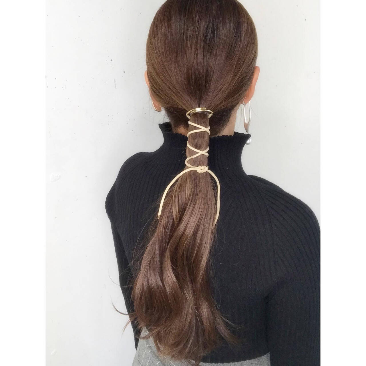 ロング 可愛い 簡単ヘアアレンジ ヘアアレンジヘアスタイルや髪型の写真・画像