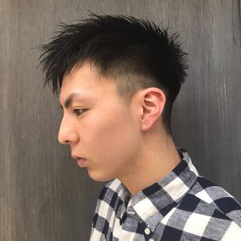 薄毛髪型ソフトモヒカン