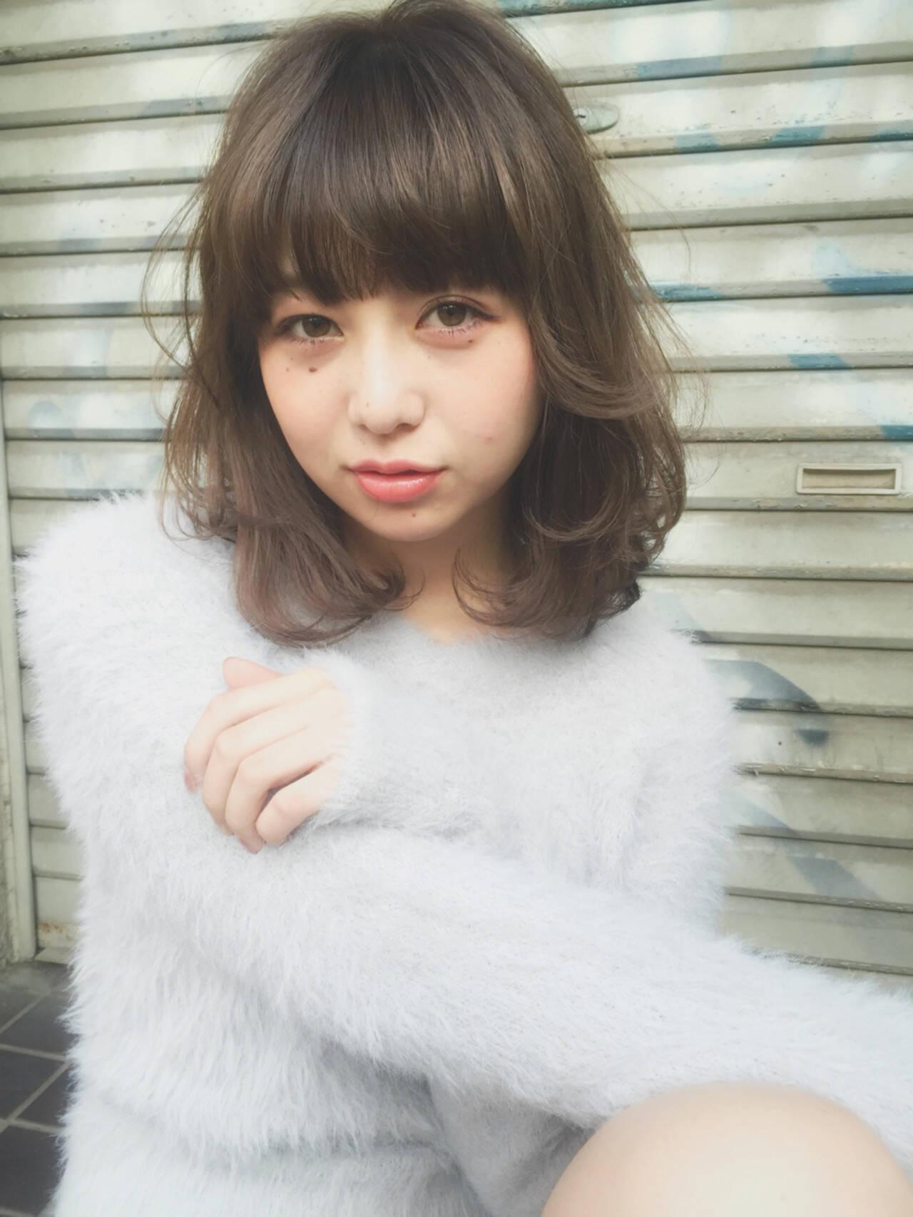 ローライト 透明感 ダブルカラー ハイライトヘアスタイルや髪型の写真・画像