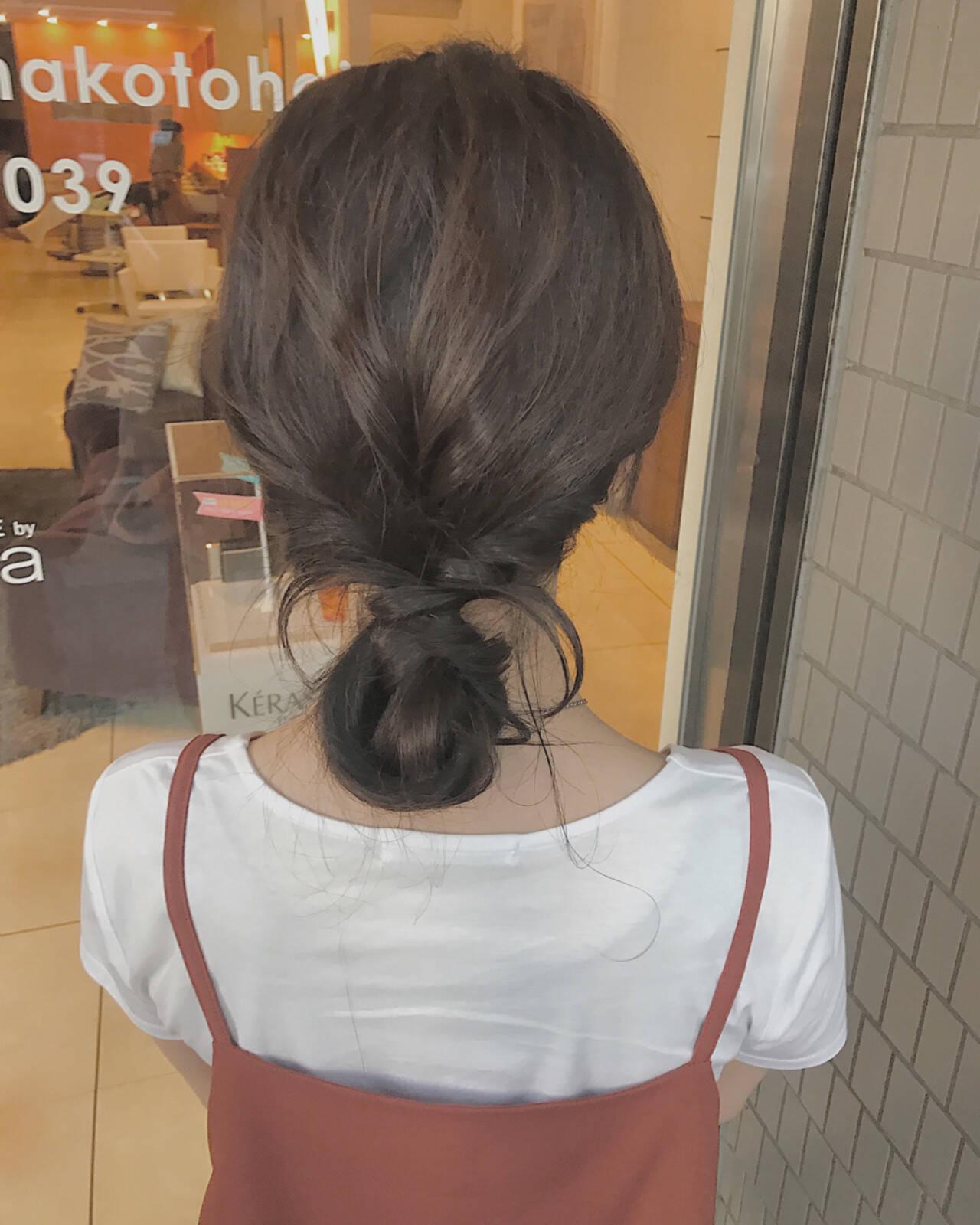 透明感 秋 色気 涼しげヘアスタイルや髪型の写真・画像