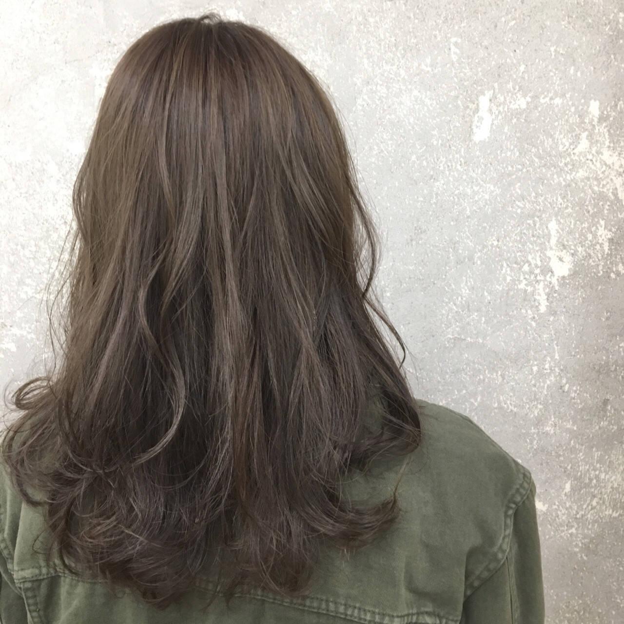 外国人風 抜け感 セミロング ストリートヘアスタイルや髪型の写真・画像