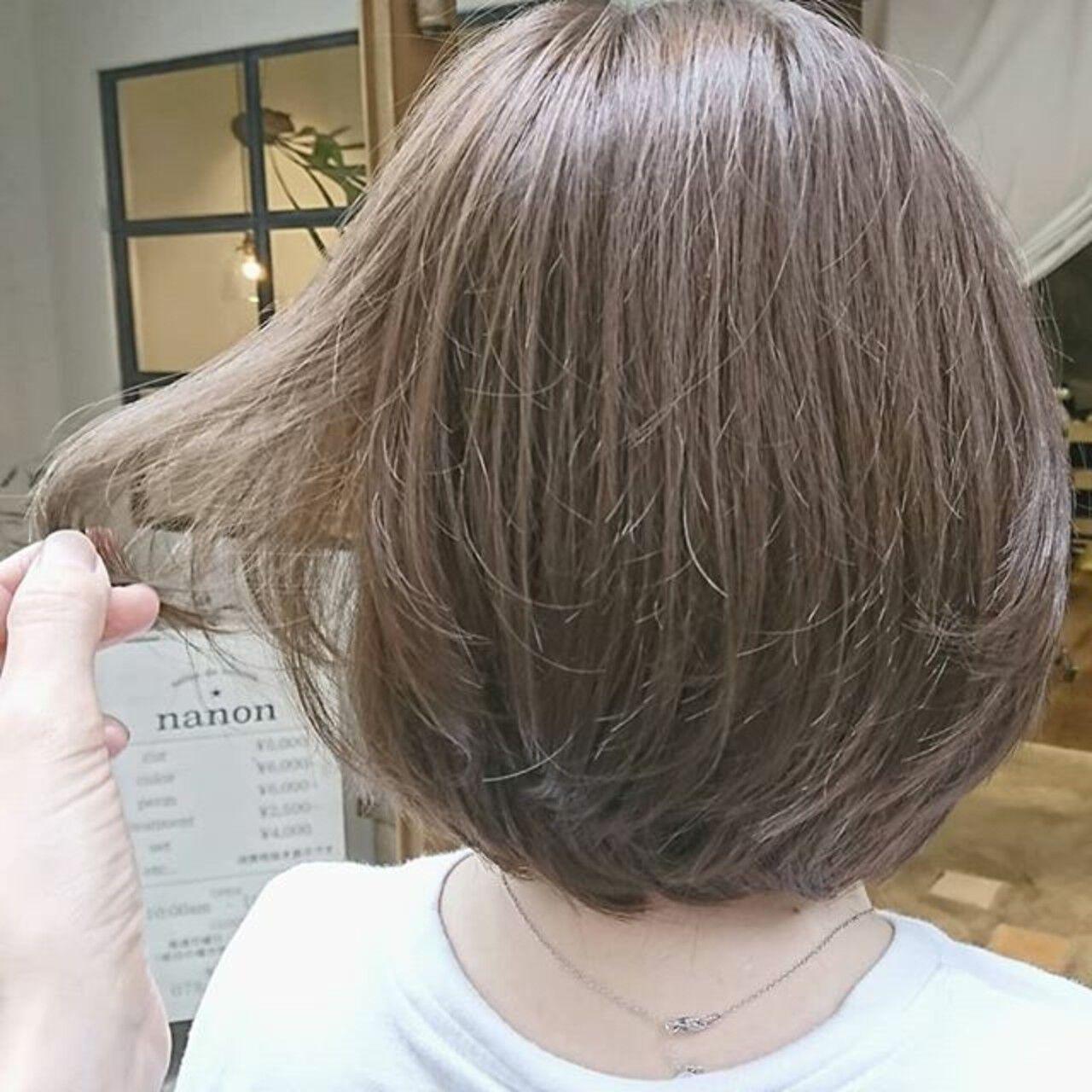 ナチュラル ゆるふわ 大人かわいい ショートヘアスタイルや髪型の写真・画像