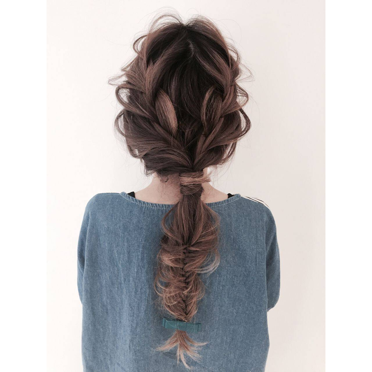 ゆるふわ ヘアアレンジ ガーリーヘアスタイルや髪型の写真・画像
