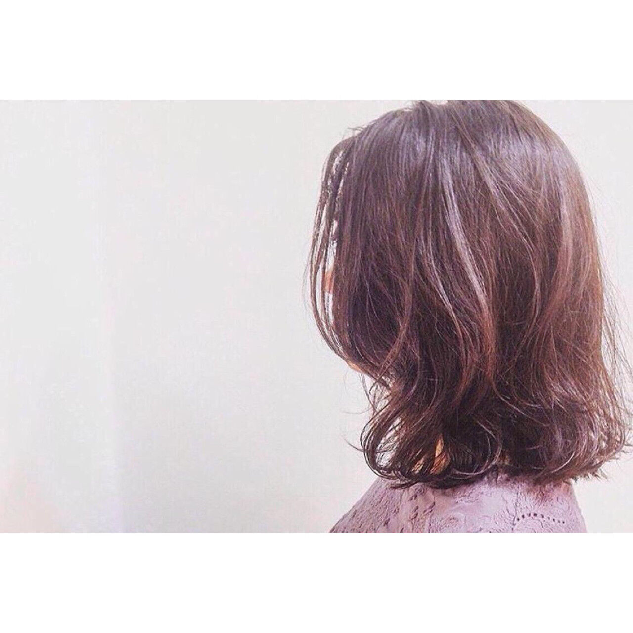 くせ毛風 ナチュラル 色気 パーマヘアスタイルや髪型の写真・画像