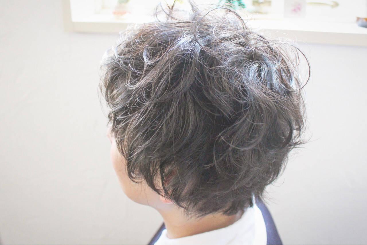 ショート 小顔 マッシュ ボブヘアスタイルや髪型の写真・画像