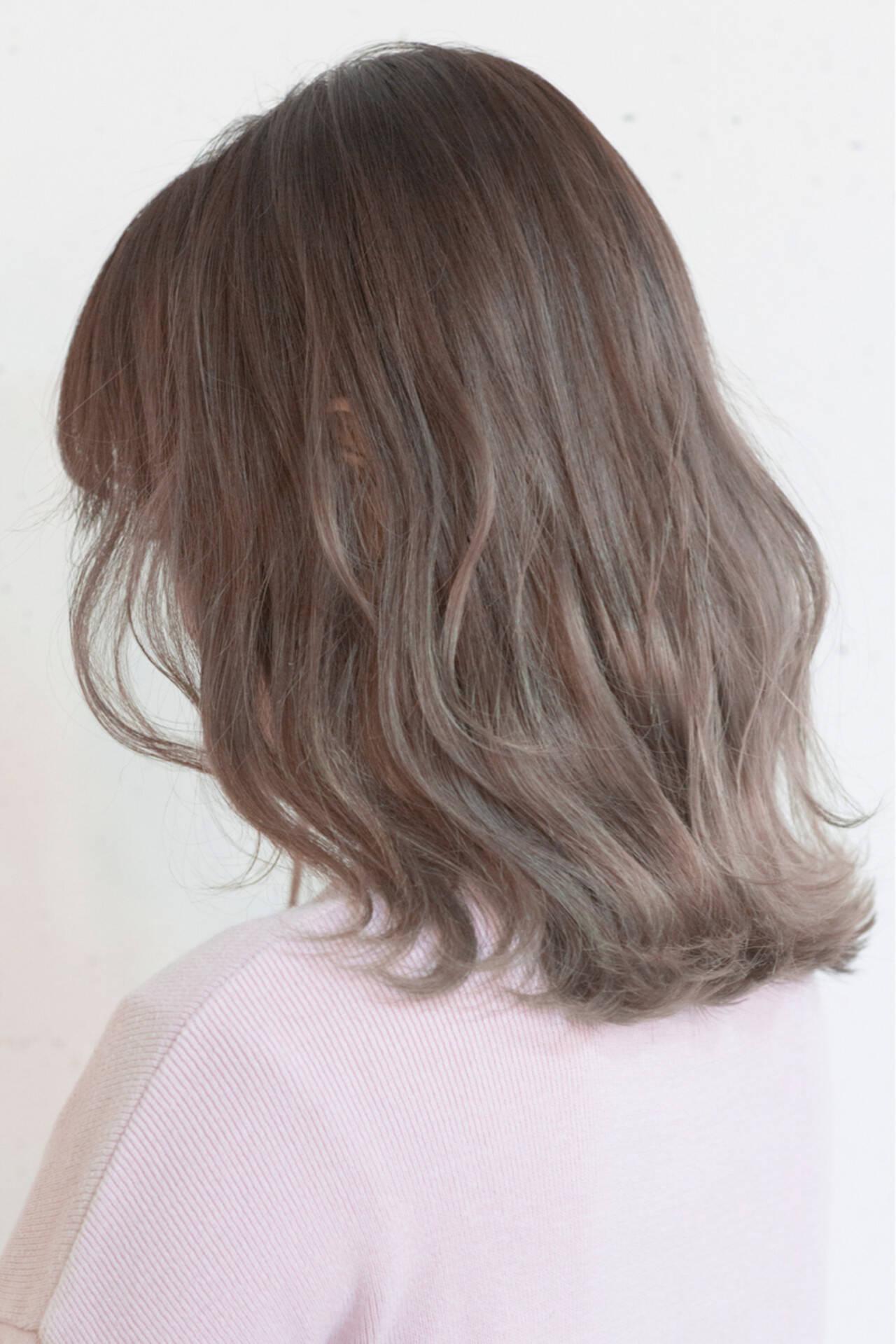 外国人風 こなれ感 大人女子 ストリートヘアスタイルや髪型の写真・画像
