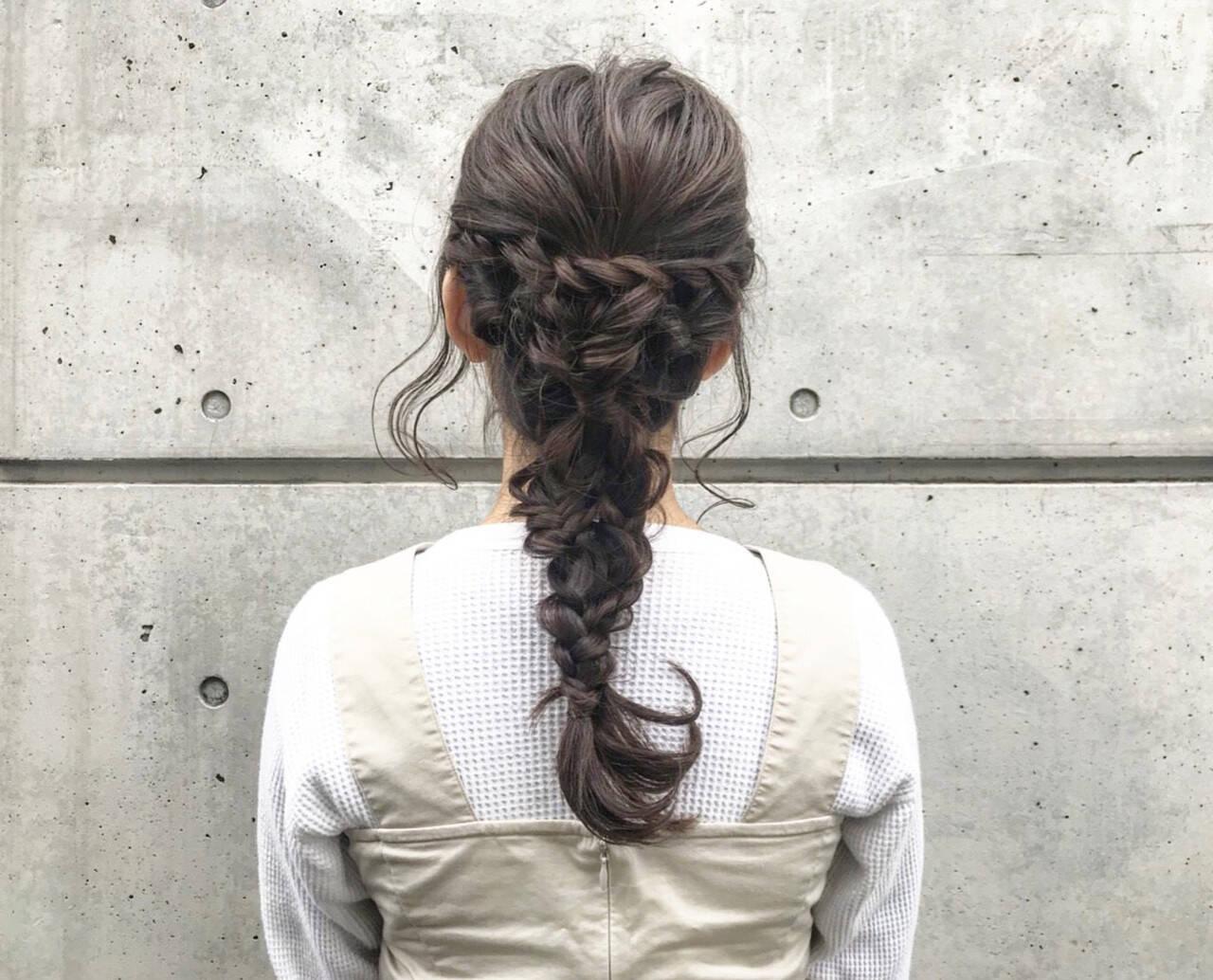 ナチュラル 簡単ヘアアレンジ 成人式 アンニュイほつれヘアヘアスタイルや髪型の写真・画像