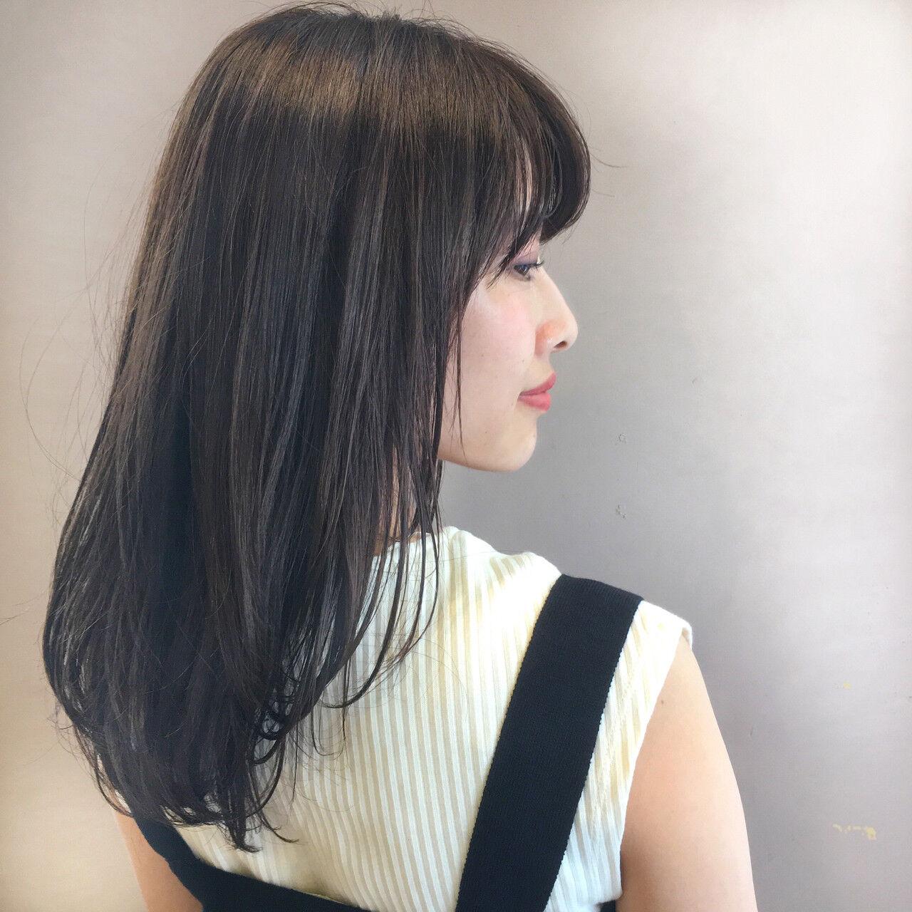 縮毛矯正  ふんわり 巻き髪ヘアスタイルや髪型の写真・画像