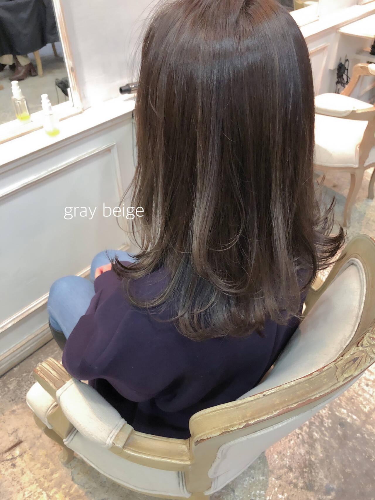 大人かわいい セミロング ヘアアレンジ ガーリーヘアスタイルや髪型の写真・画像