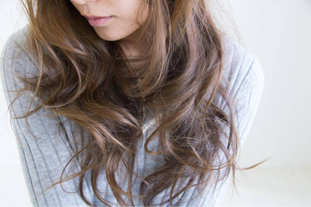 ハイライト ナチュラル 外国人風 艶髪ヘアスタイルや髪型の写真・画像