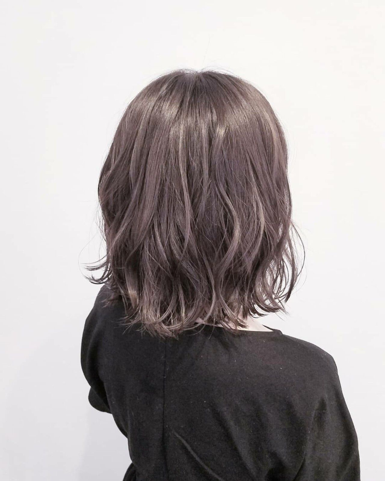 ミディアム 透明感 大人かわいい ナチュラルヘアスタイルや髪型の写真・画像