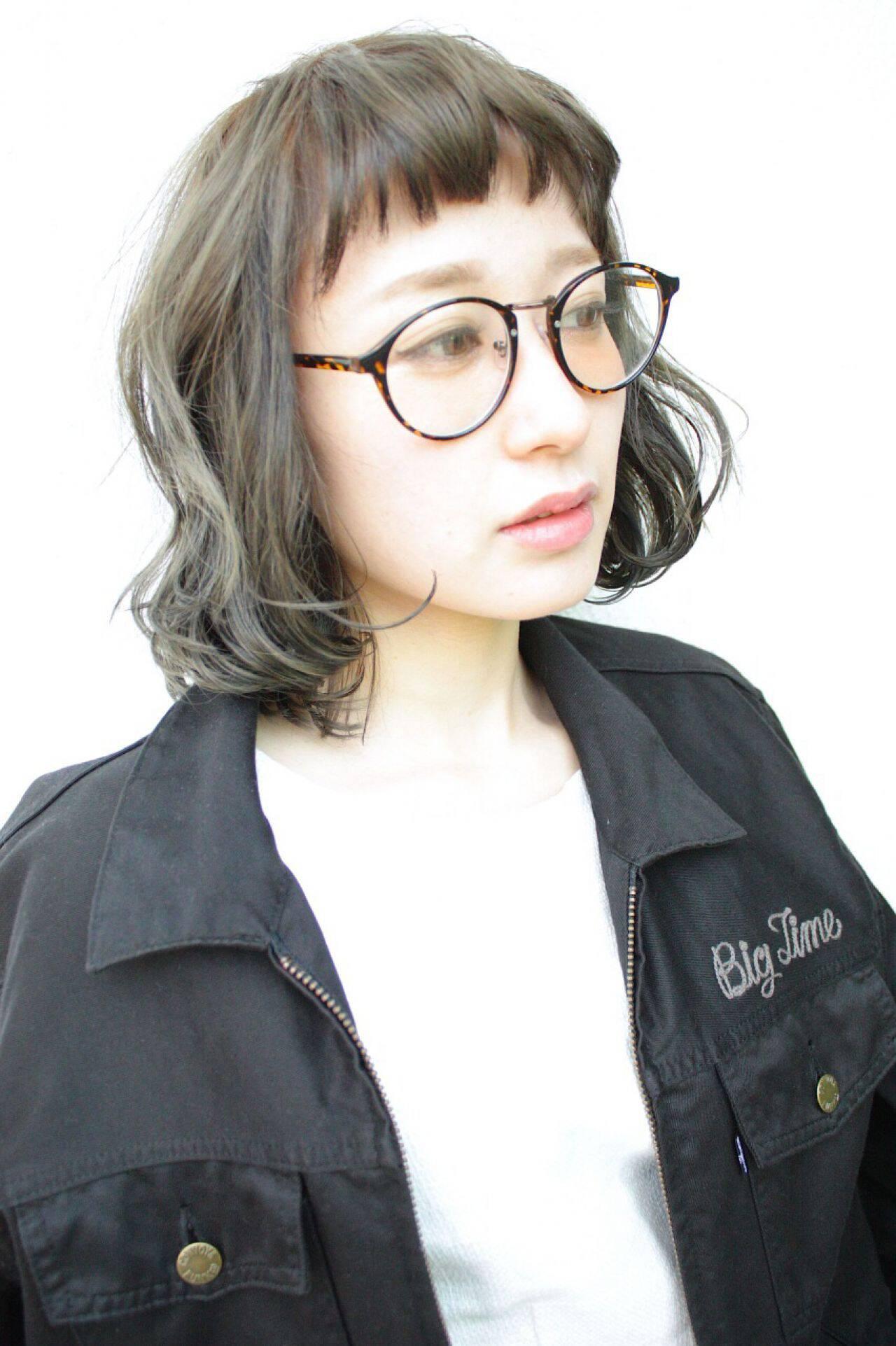 ストリート パンク 春 ウェットヘアヘアスタイルや髪型の写真・画像