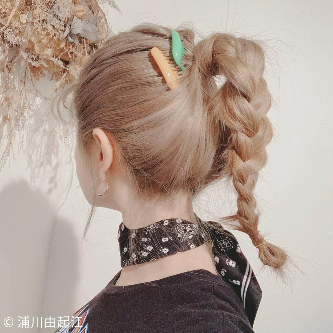 ハイライト フェミニン デート グラデーションカラーヘアスタイルや髪型の写真・画像