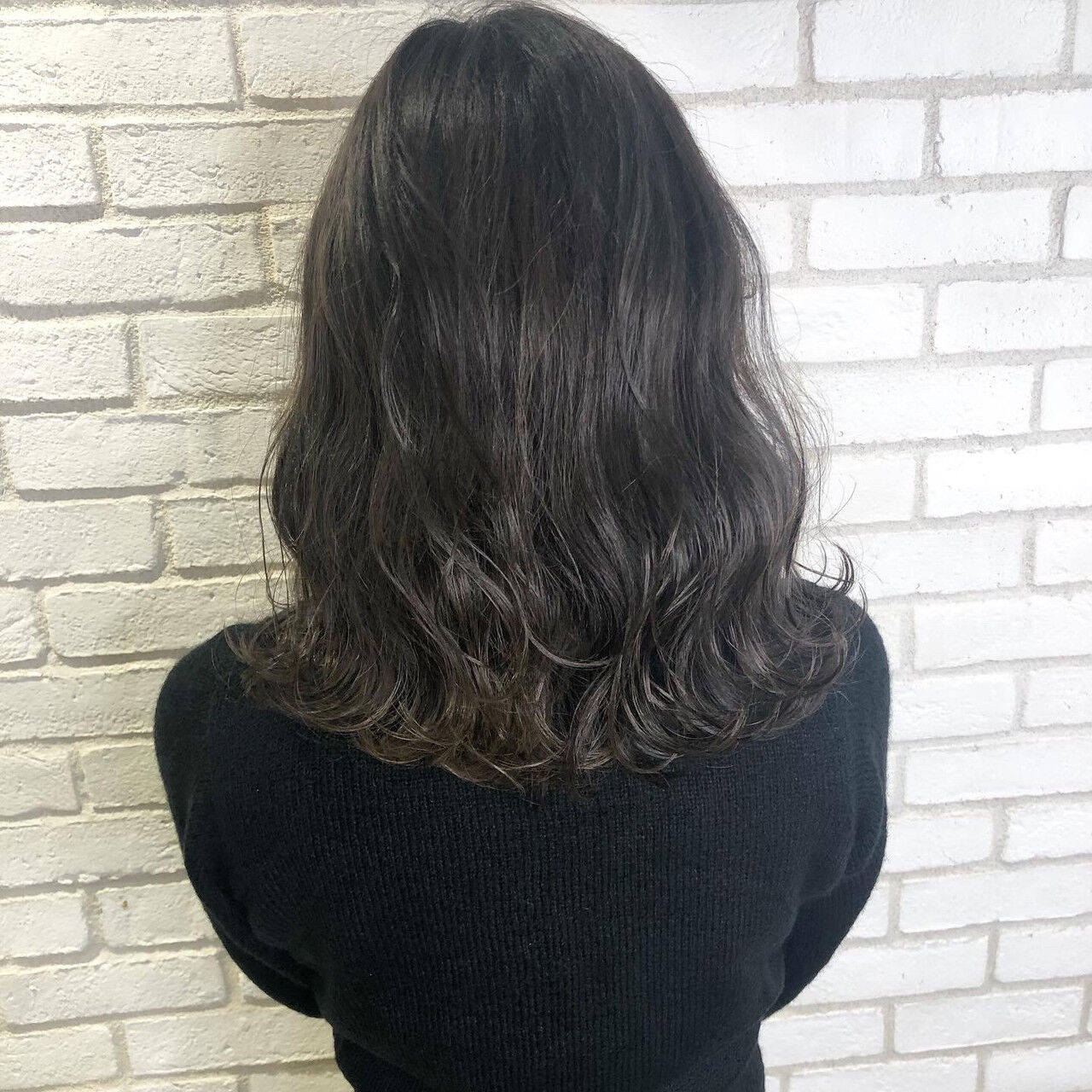 アッシュグレージュ アディクシーカラー アッシュグレー グレージュヘアスタイルや髪型の写真・画像