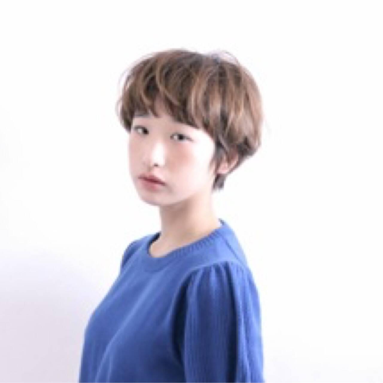 ナチュラル ショート ゆるふわ 大人女子ヘアスタイルや髪型の写真・画像