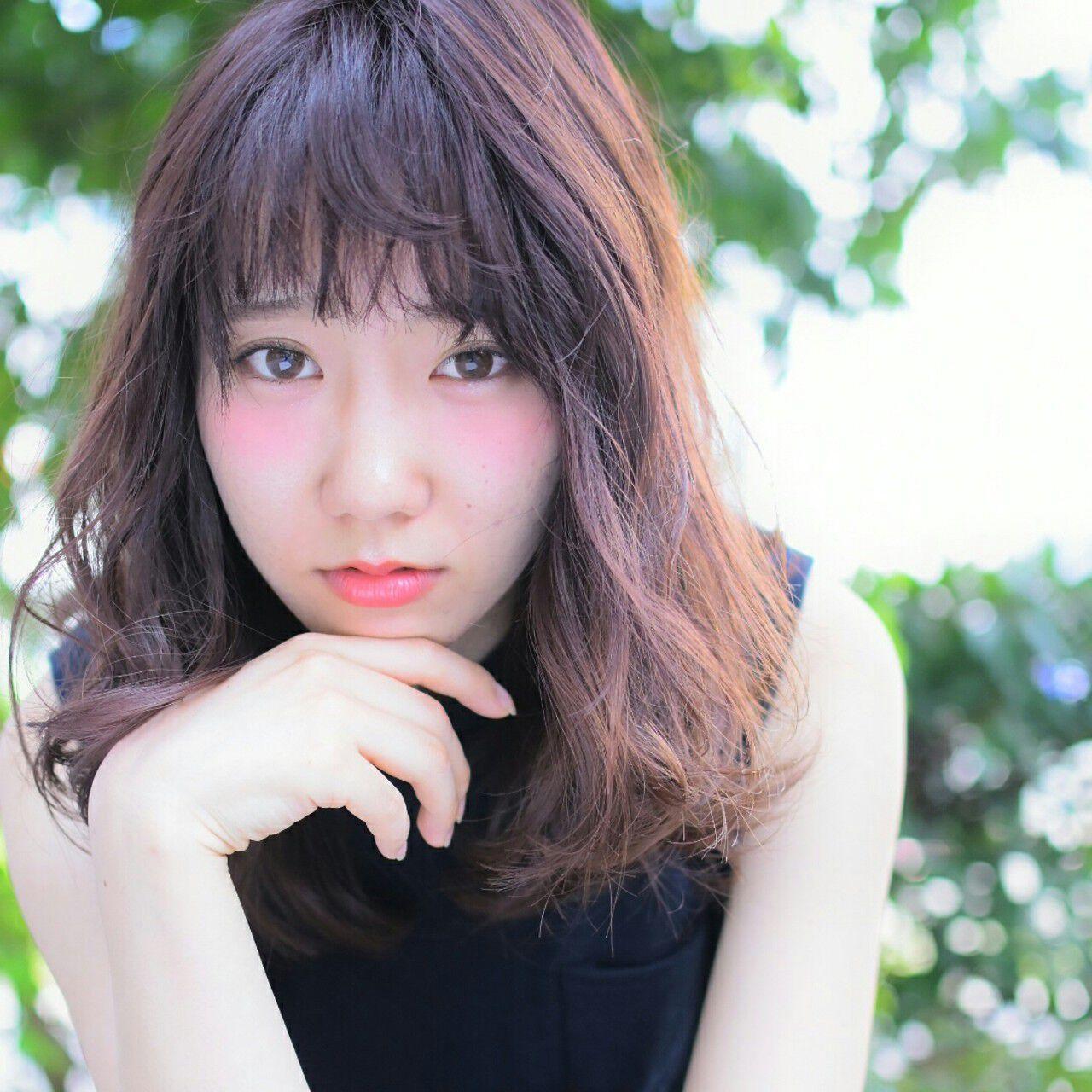 ピンク 大人かわいい 外国人風カラー イルミナカラーヘアスタイルや髪型の写真・画像