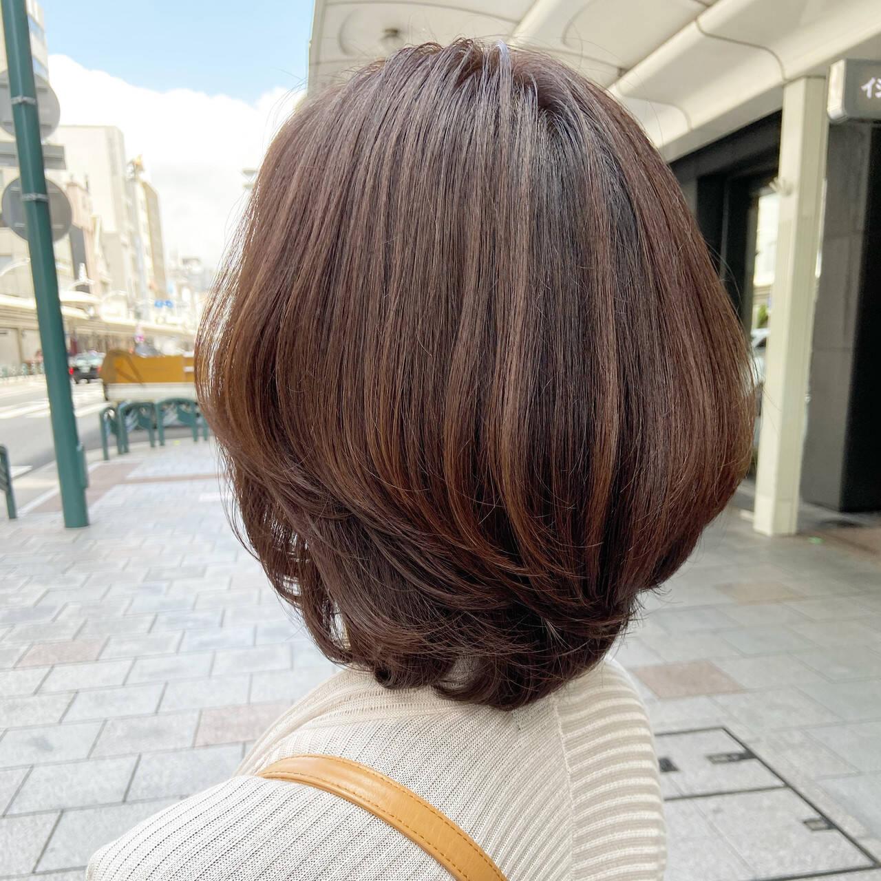 ベージュ ヌーディベージュ フェミニン ミルクティーベージュヘアスタイルや髪型の写真・画像