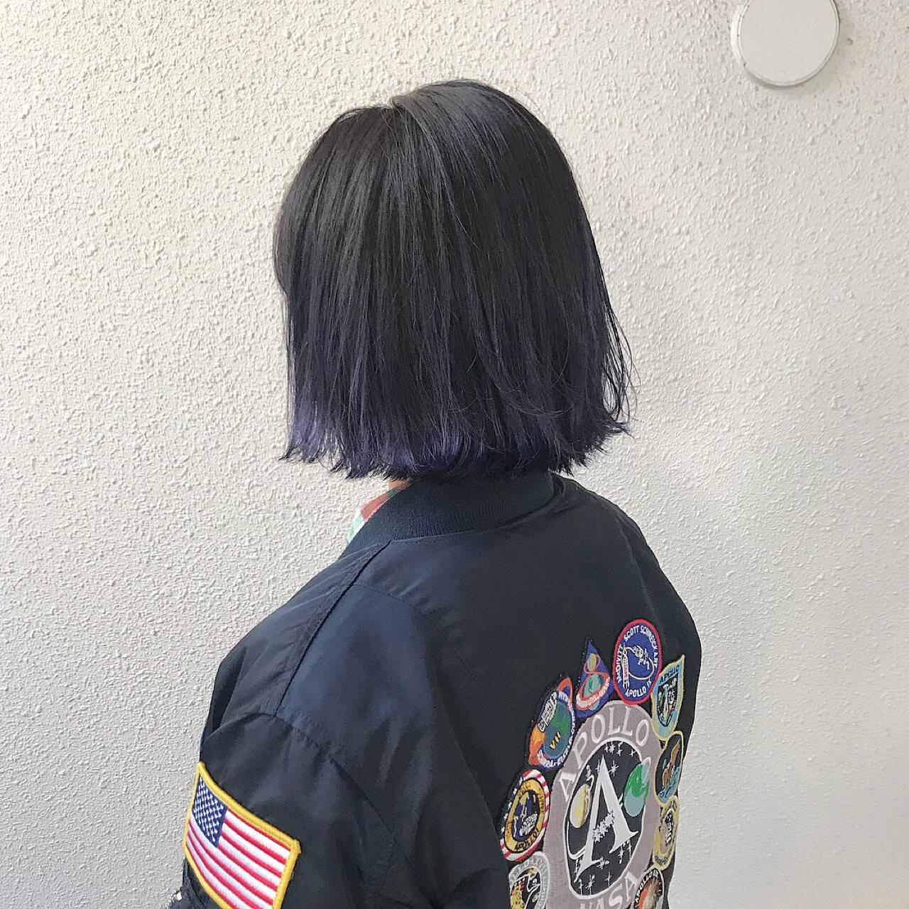 ダブルカラー 外国人風 モード 外国人風カラーヘアスタイルや髪型の写真・画像