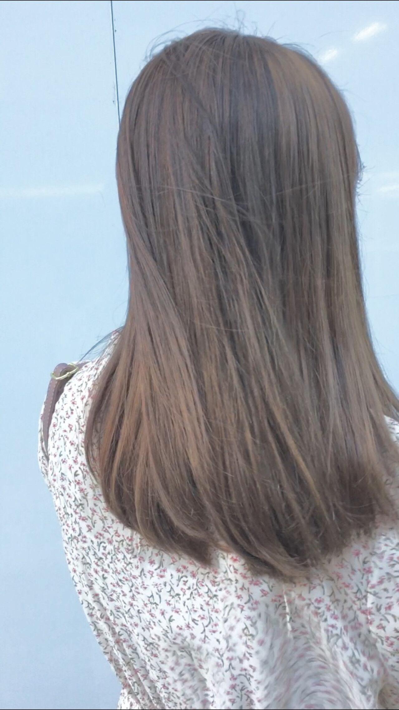 アッシュベージュ ベージュ ミルクティーベージュ ブラウンベージュヘアスタイルや髪型の写真・画像