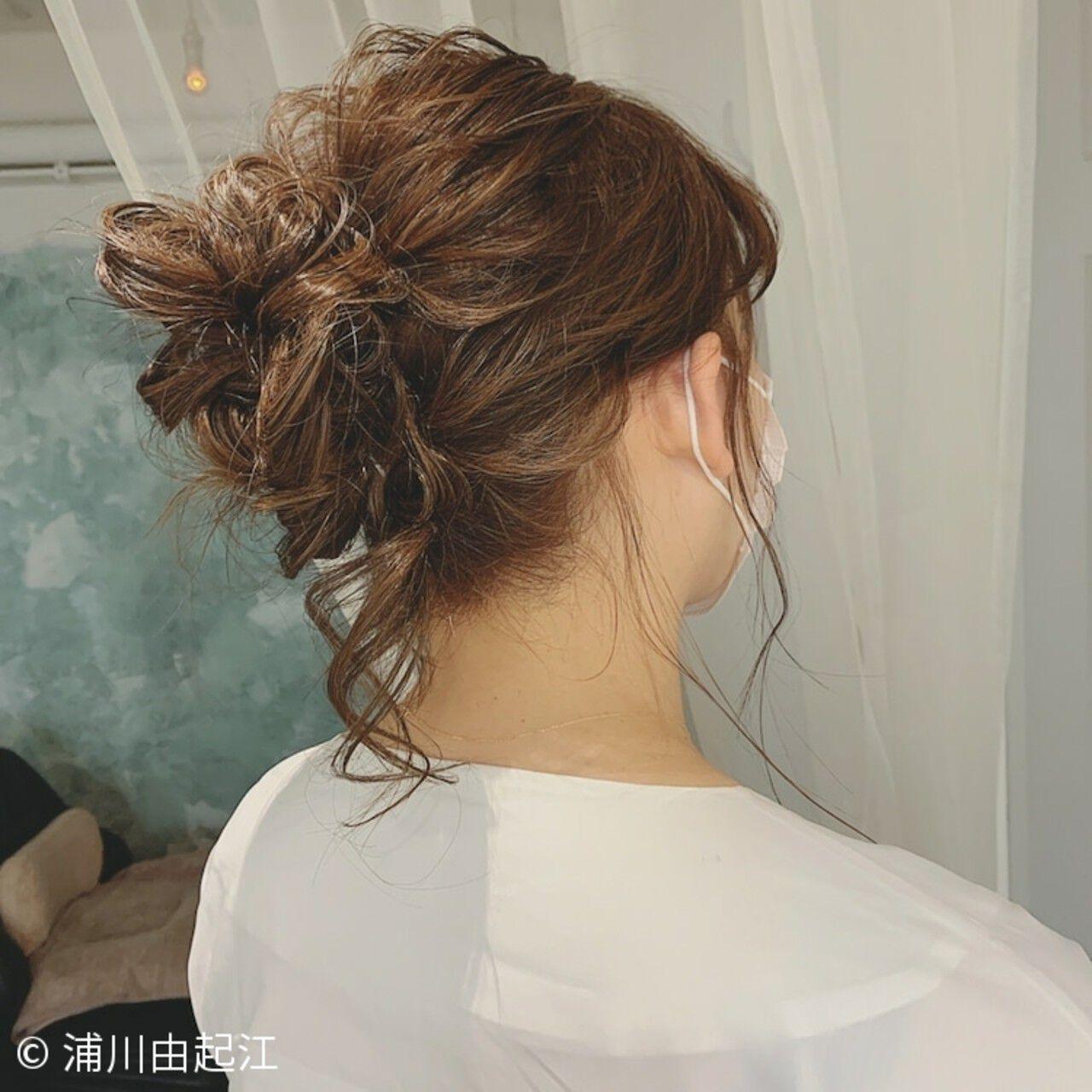 ナチュラル ロング 切りっぱなしボブ ヘアアレンジヘアスタイルや髪型の写真・画像