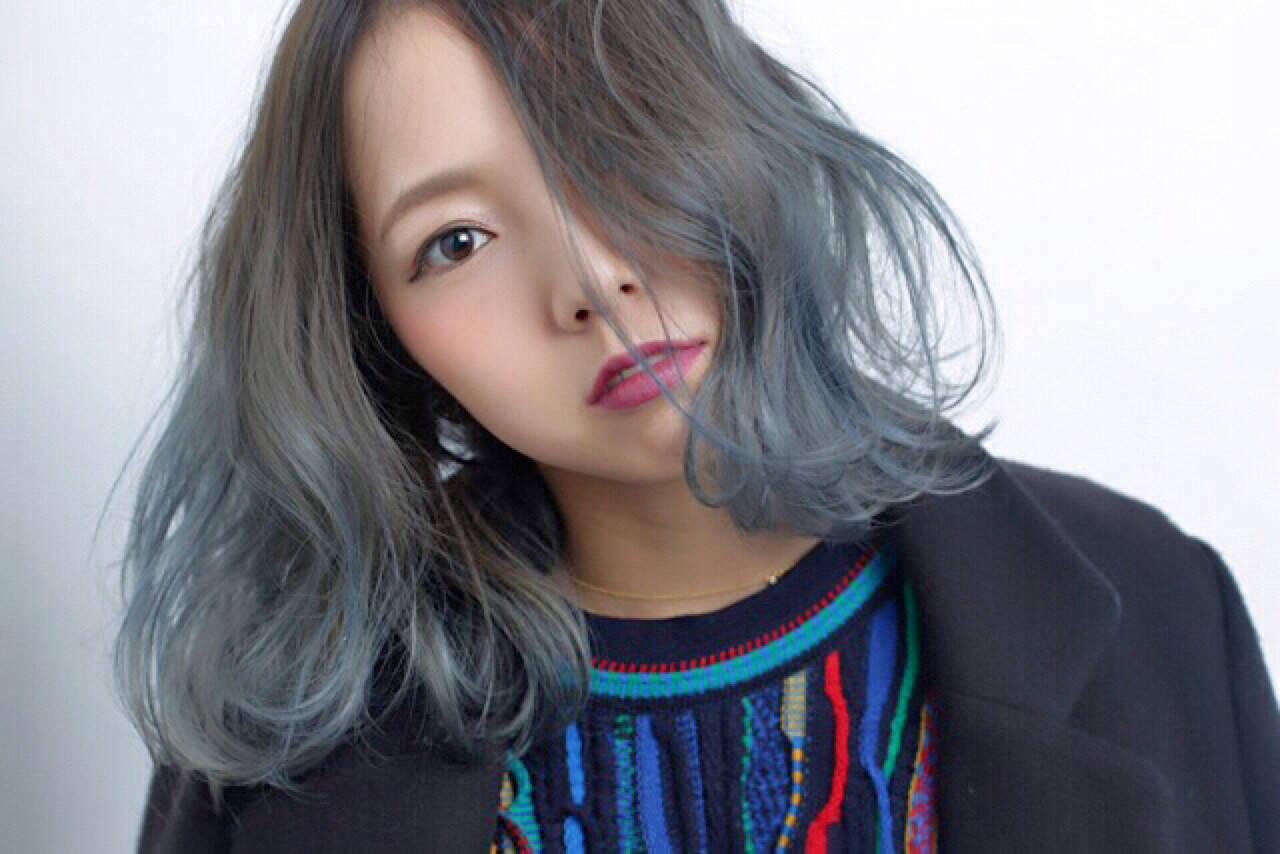外国人風 アッシュ 渋谷系 ストリートヘアスタイルや髪型の写真・画像