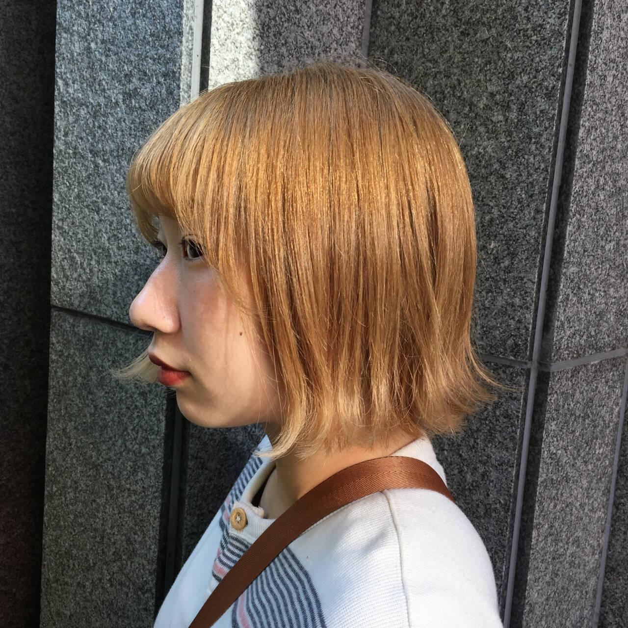 ブリーチ 外国人風カラー ハイトーン モードヘアスタイルや髪型の写真・画像