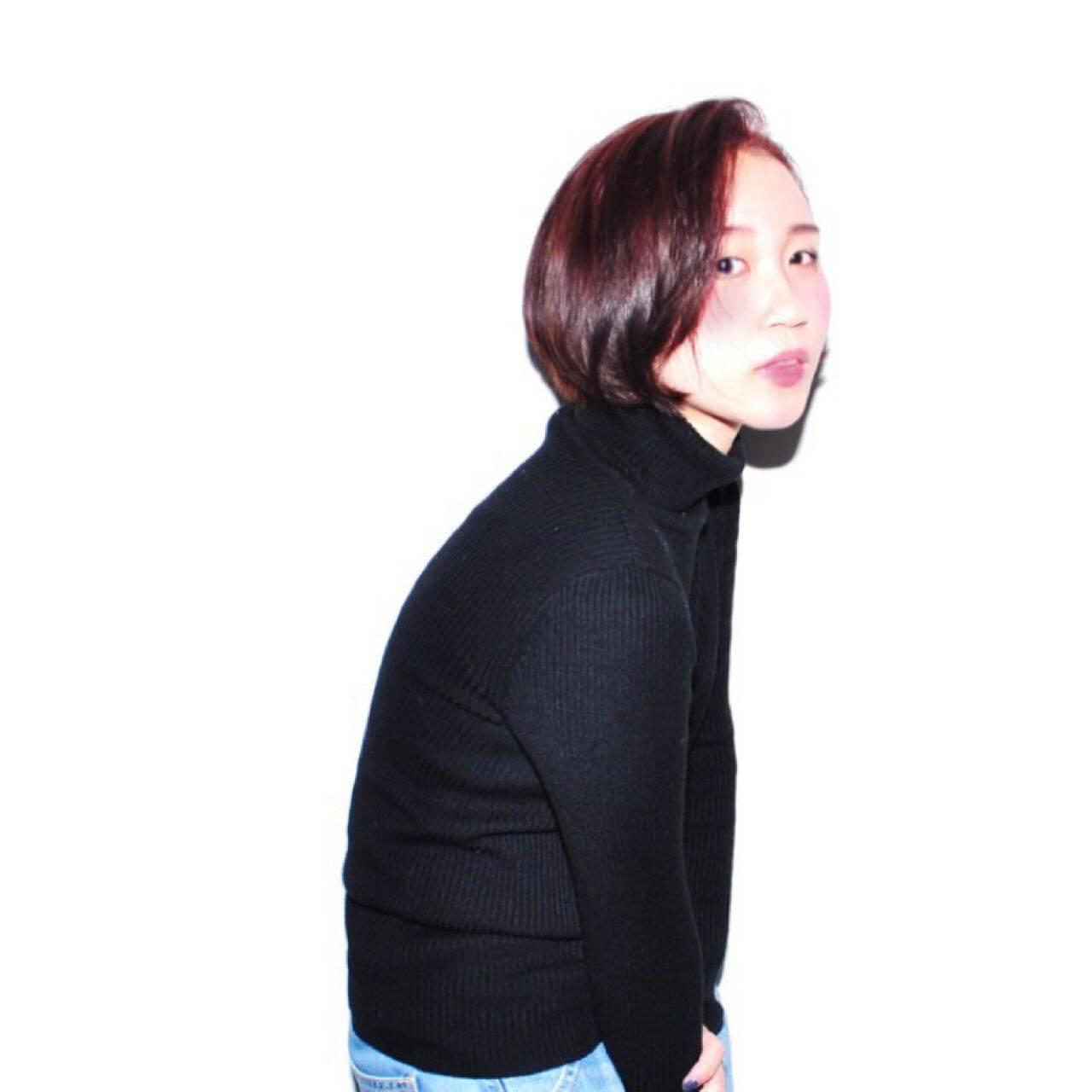モテ髪 ピンク ガーリー レッドヘアスタイルや髪型の写真・画像