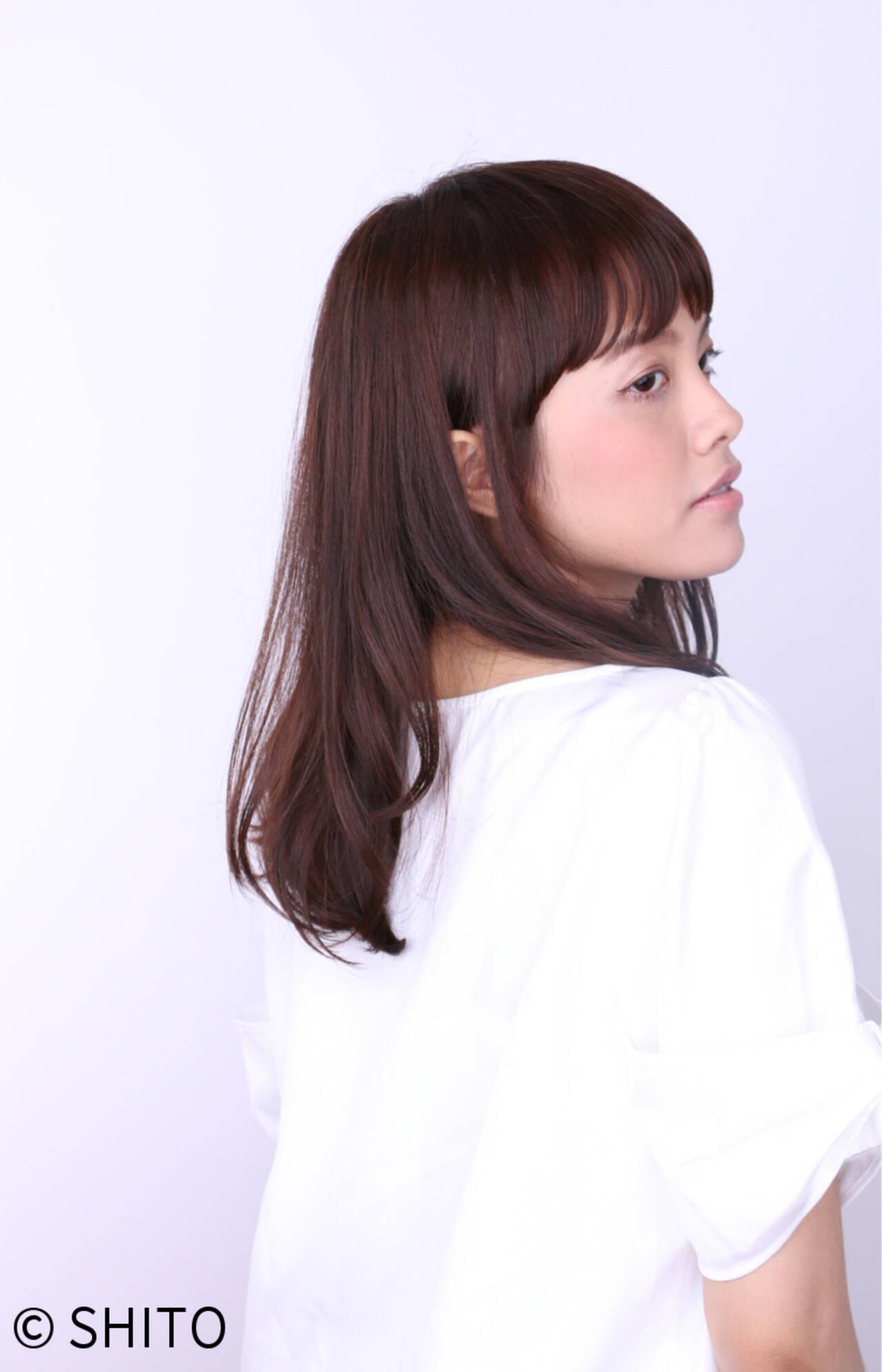 艶髪 ナチュラル ゆるふわ ブルージュヘアスタイルや髪型の写真・画像