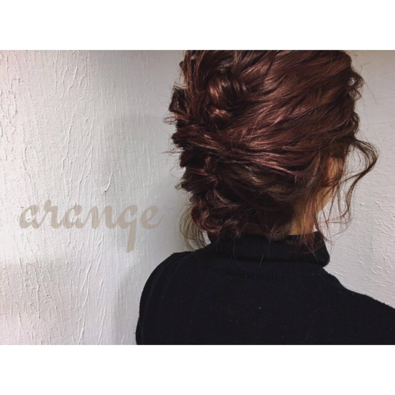 ミディアム 夏 ヘアアレンジ ショートヘアスタイルや髪型の写真・画像