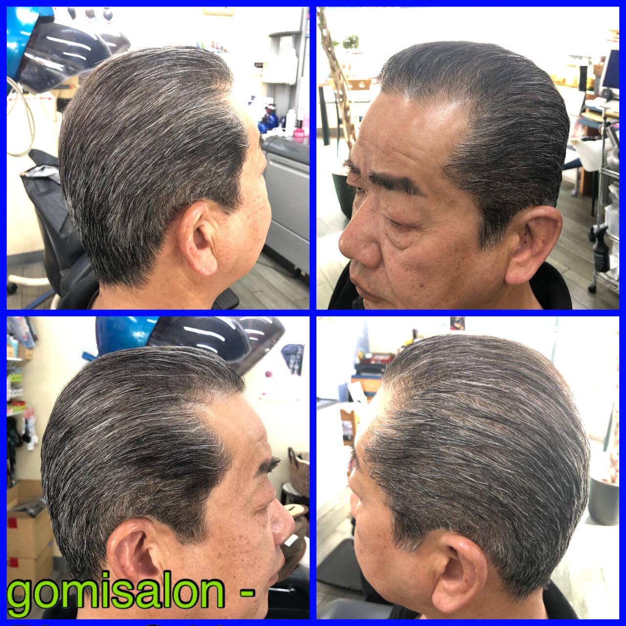 ナチュラル メンズカット メンズスタイル アイロンワークヘアスタイルや髪型の写真・画像