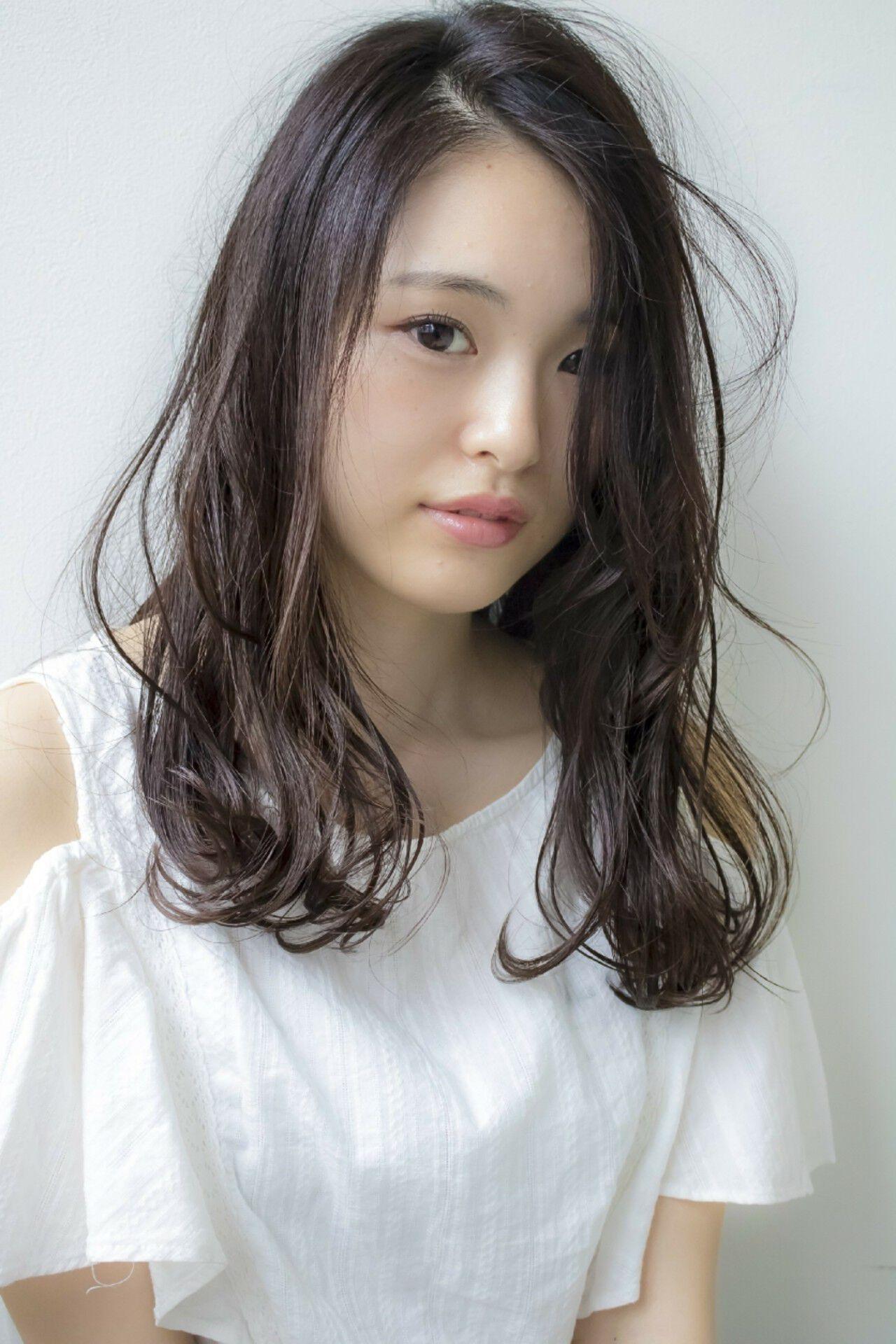 夏 エレガント 大人かわいい ゆるふわヘアスタイルや髪型の写真・画像