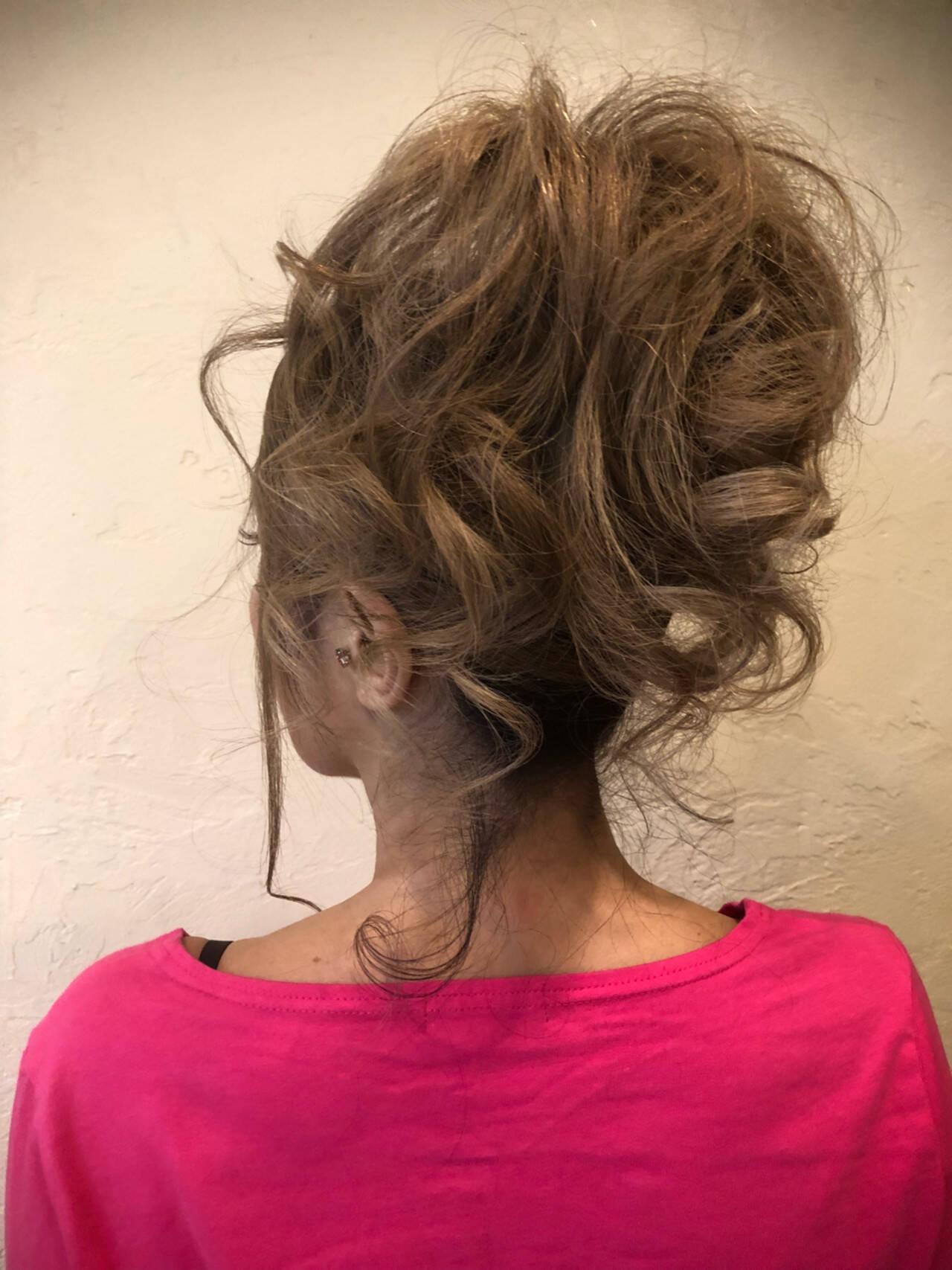 ヘアアレンジ 上品 ロング パーティヘアスタイルや髪型の写真・画像