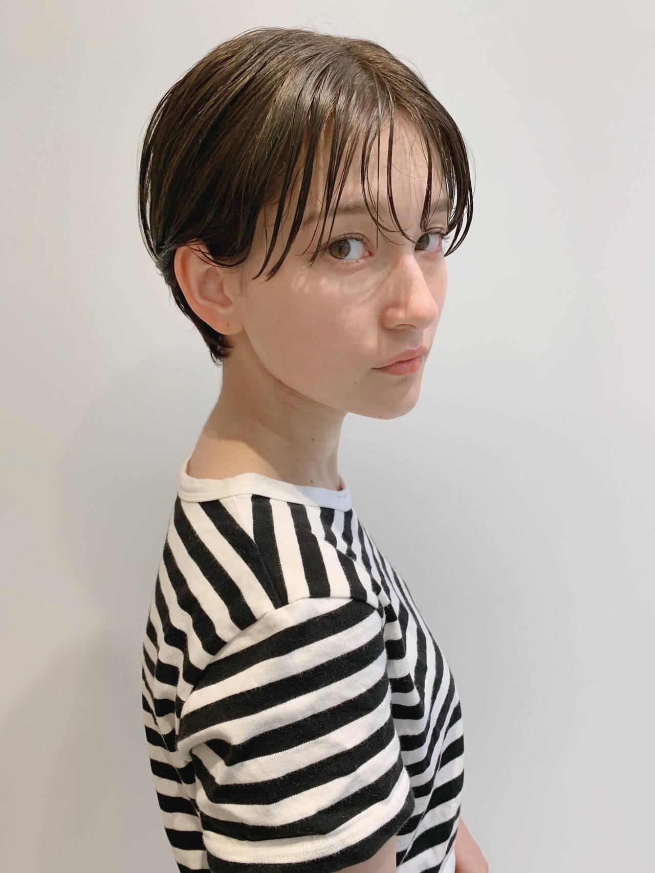 大人ショート ショート エレガント 大人かわいいヘアスタイルや髪型の写真・画像