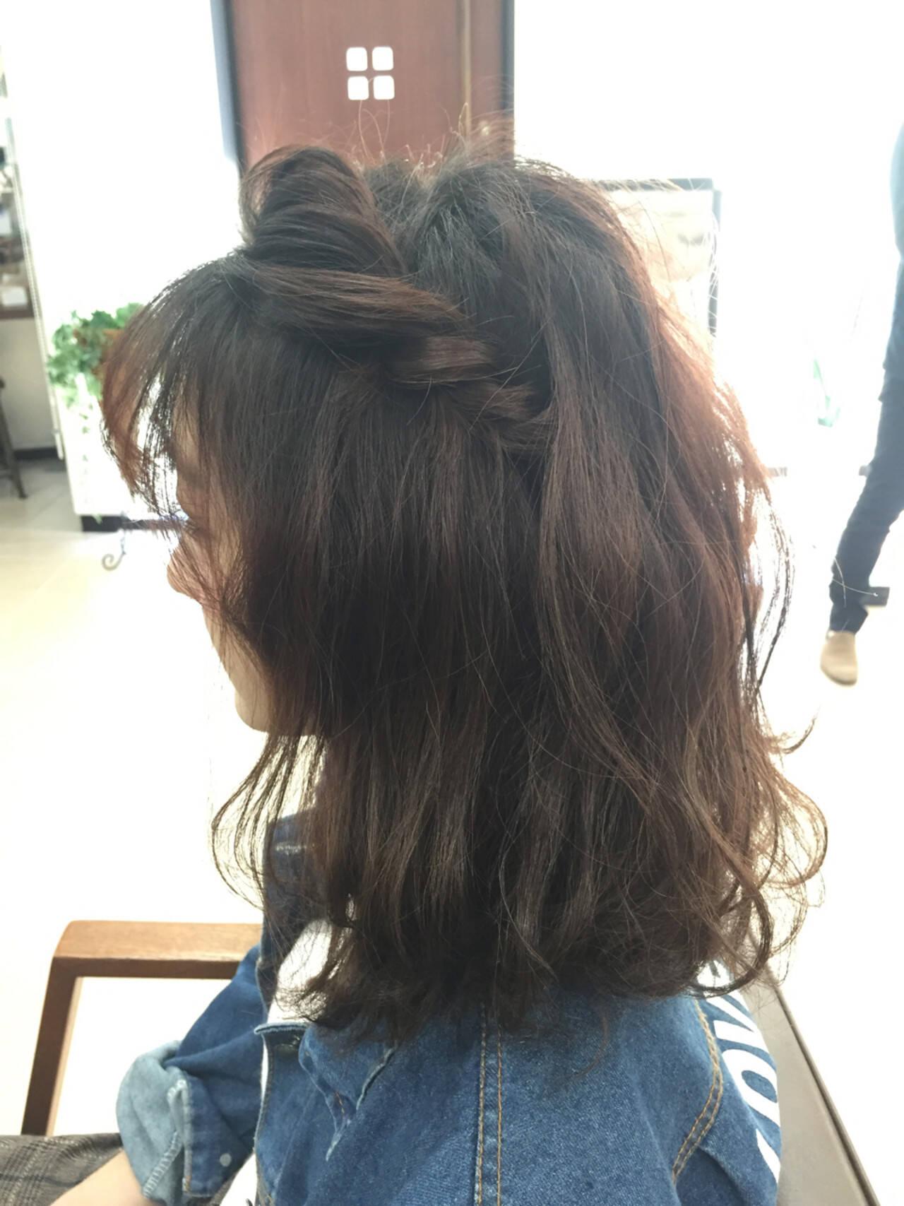 ゆるふわ ショート ボブ ヘアアレンジヘアスタイルや髪型の写真・画像