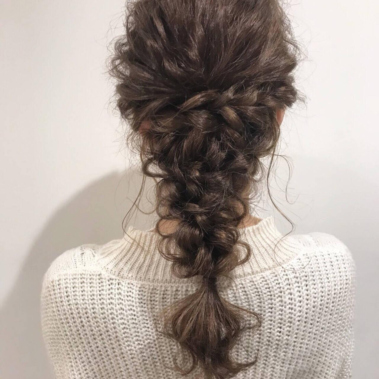 簡単ヘアアレンジ 結婚式 ヘアアレンジ アンニュイほつれヘアヘアスタイルや髪型の写真・画像