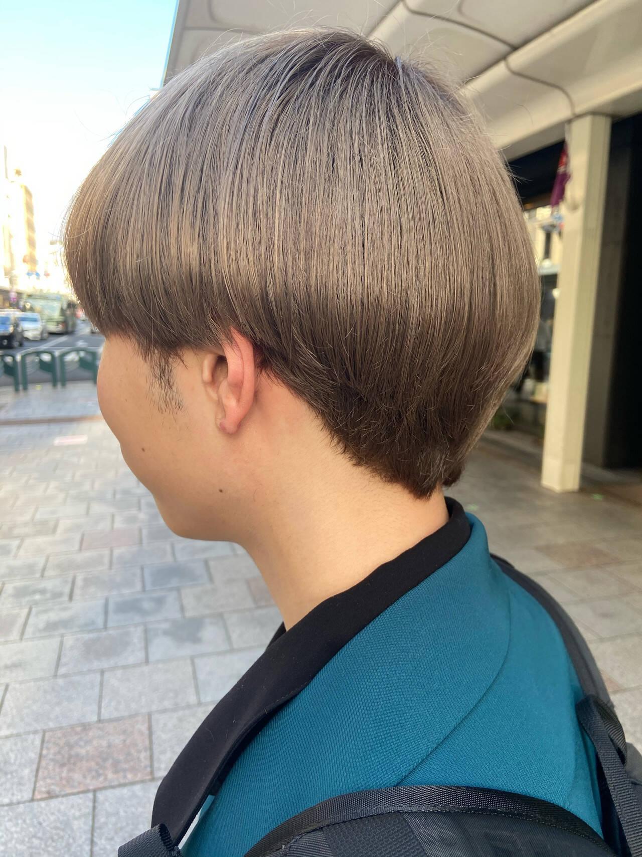 ブリーチ モード ブリーチカラー ハイトーンヘアスタイルや髪型の写真・画像