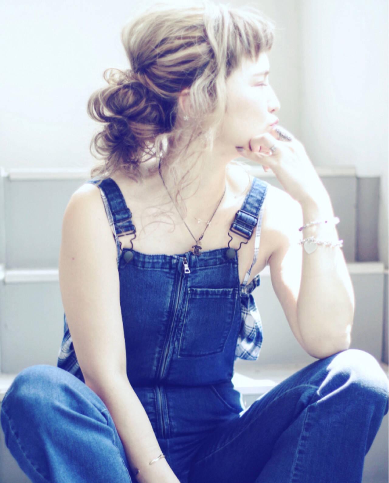 大人女子 ギブソンタック 抜け感 ヘアアレンジヘアスタイルや髪型の写真・画像