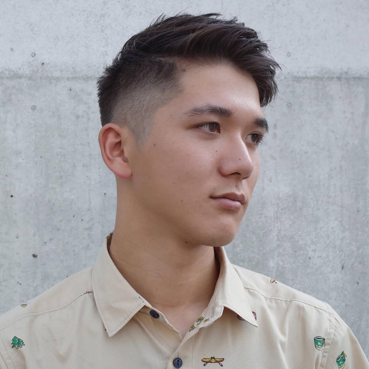メンズヘア メンズショート 刈り上げ メンズヘアスタイルや髪型の写真・画像