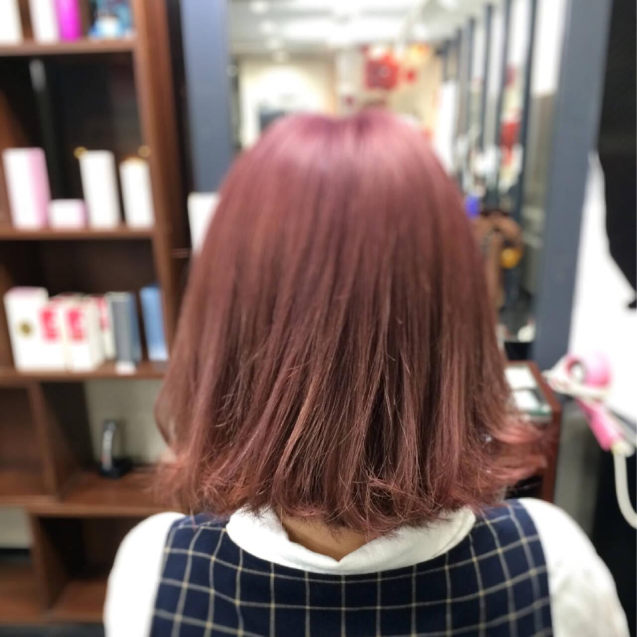 外国人風 ガーリー フェミニン ハイトーンヘアスタイルや髪型の写真・画像