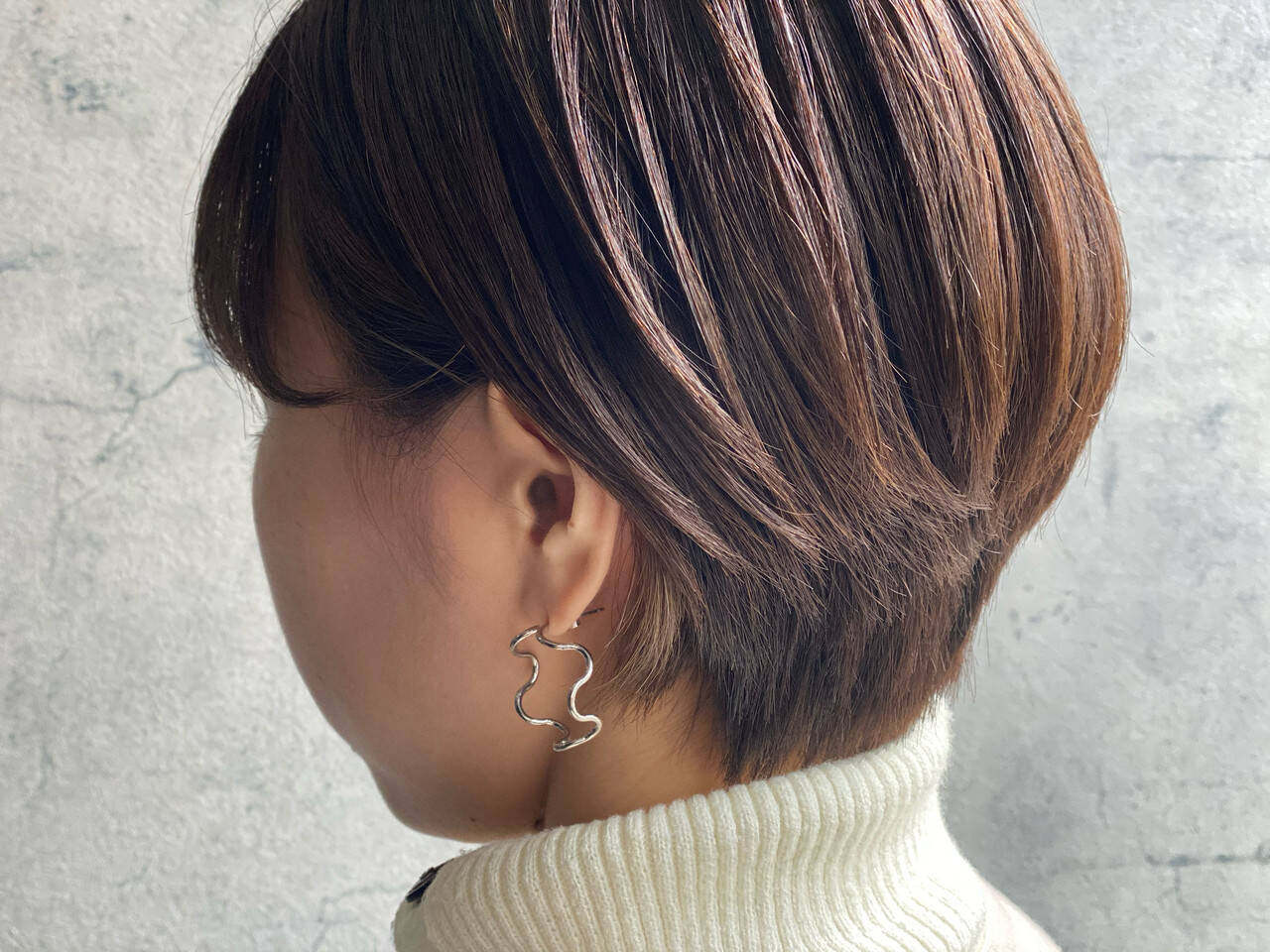 ショートヘア ナチュラル 小顔ショート ショートヘアスタイルや髪型の写真・画像