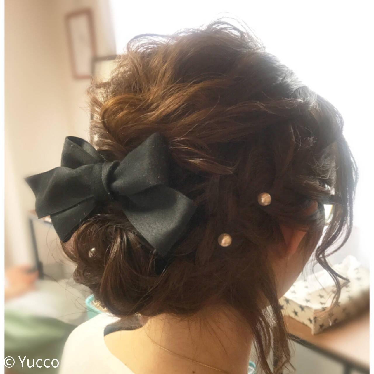 ヘアアレンジ デート ガーリー 結婚式ヘアスタイルや髪型の写真・画像