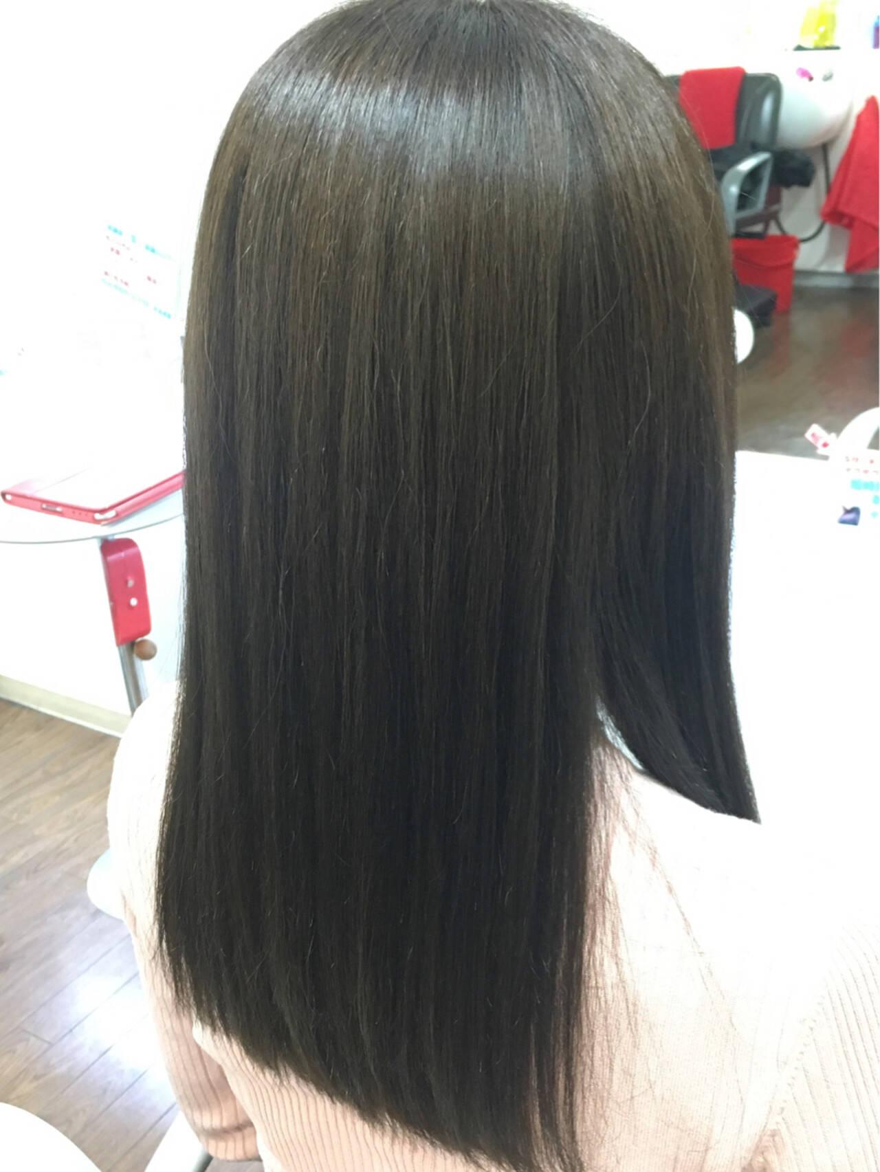 ブルージュ ストリート セミロング ハイライトヘアスタイルや髪型の写真・画像