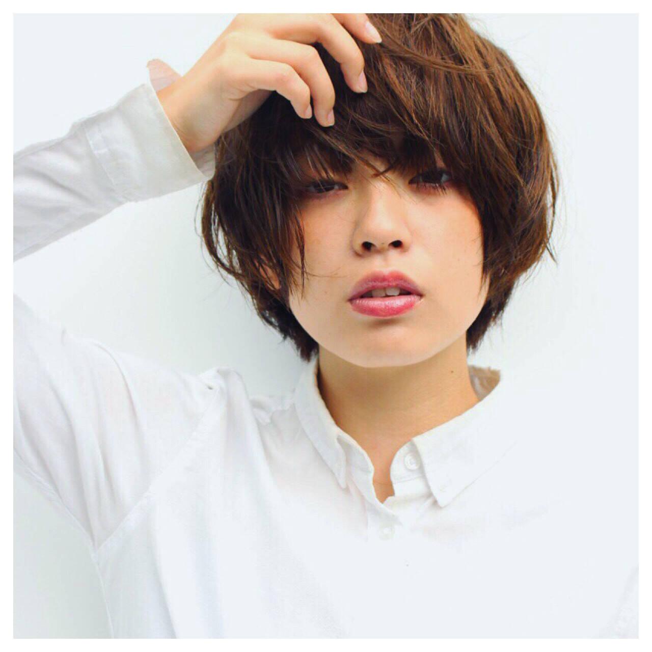 外国人風 大人かわいい ストリート 前髪ありヘアスタイルや髪型の写真・画像