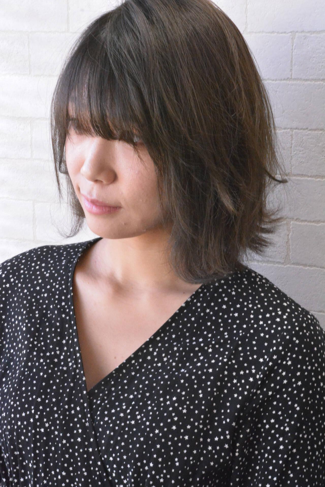 デート ナチュラル 髪質改善トリートメント 髪質改善カラーヘアスタイルや髪型の写真・画像