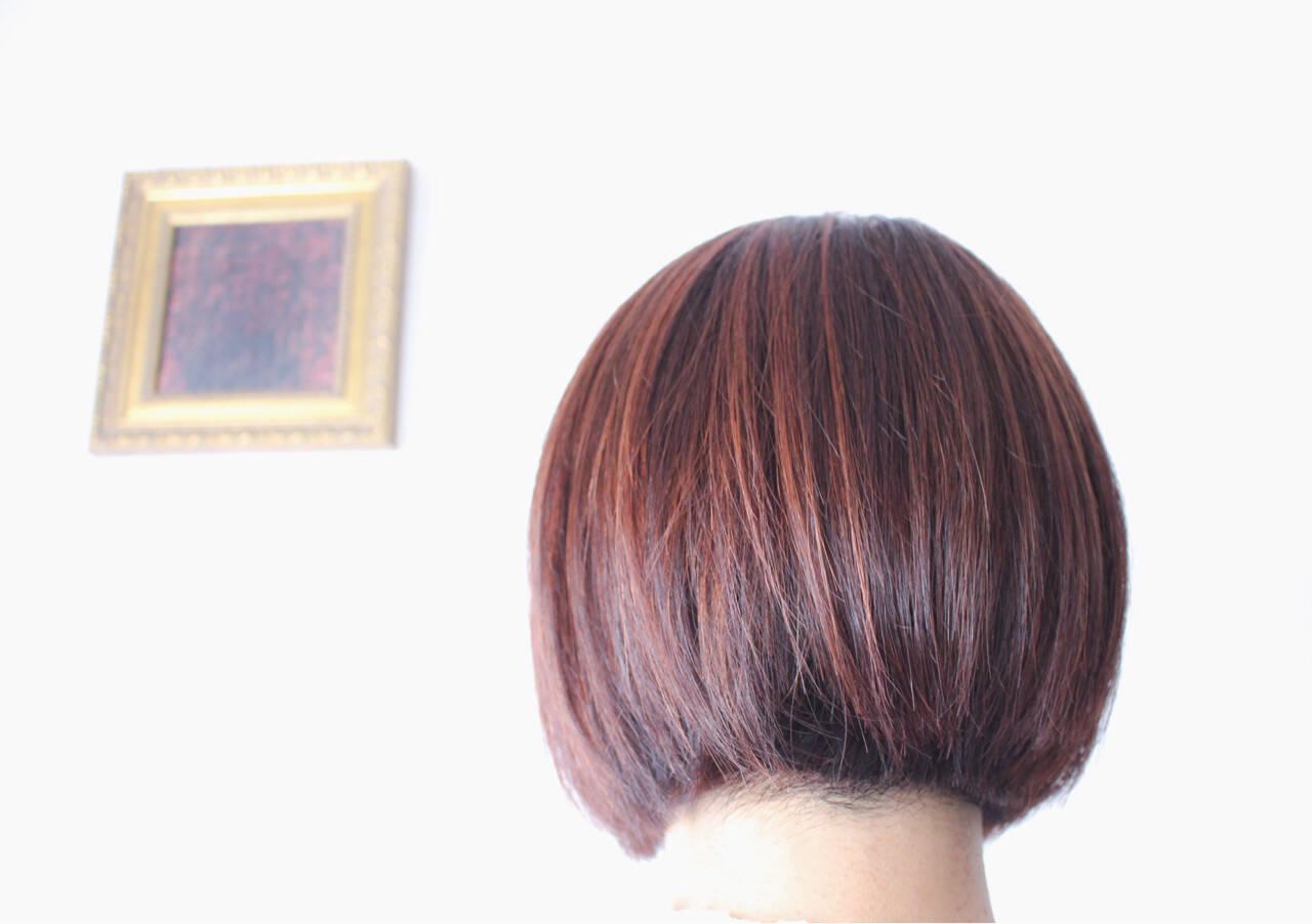 モーブ 色気 ブリーチ ピンクヘアスタイルや髪型の写真・画像