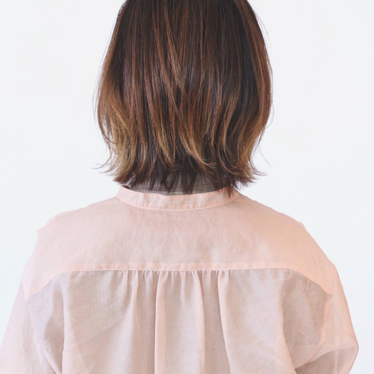 ストリート インナーカラー ウルフカット グラデーションカラーヘアスタイルや髪型の写真・画像