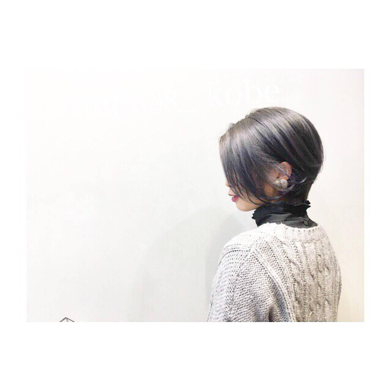 ショート ナチュラル ゆるふわ 愛されヘアスタイルや髪型の写真・画像