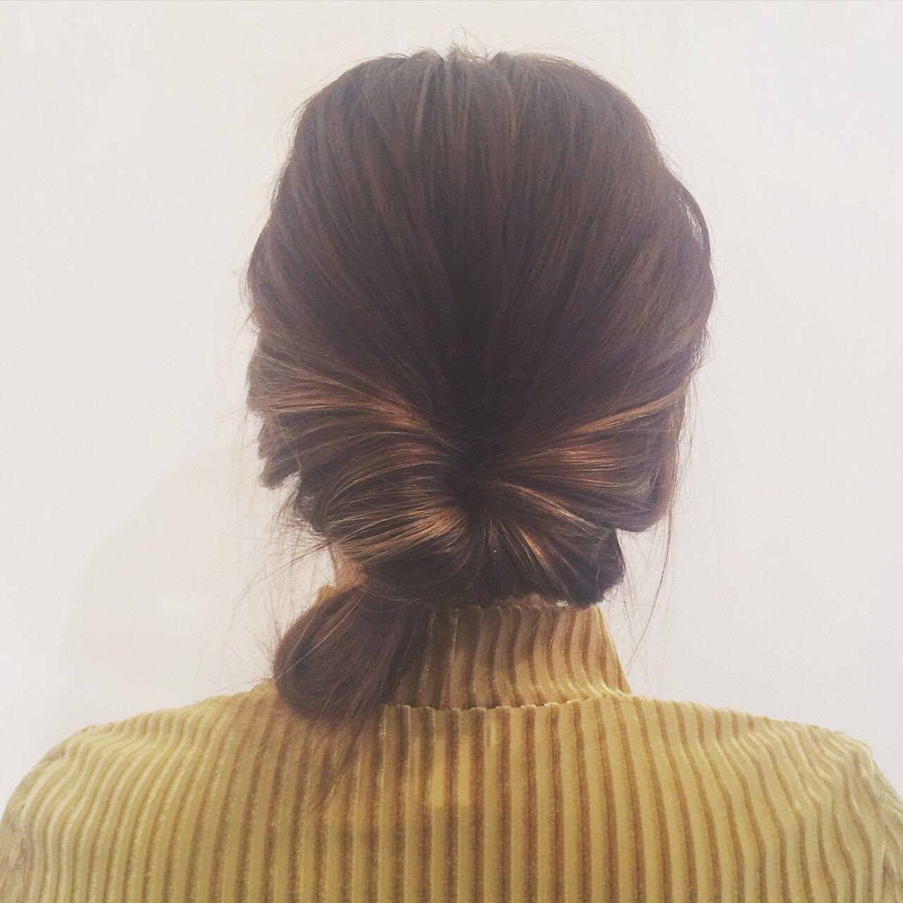 ミディアム ストリート ヘアアレンジ ハイライトヘアスタイルや髪型の写真・画像