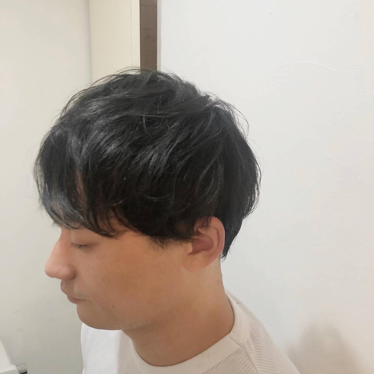 ナチュラル ショート メンズマッシュ メンズカットヘアスタイルや髪型の写真・画像