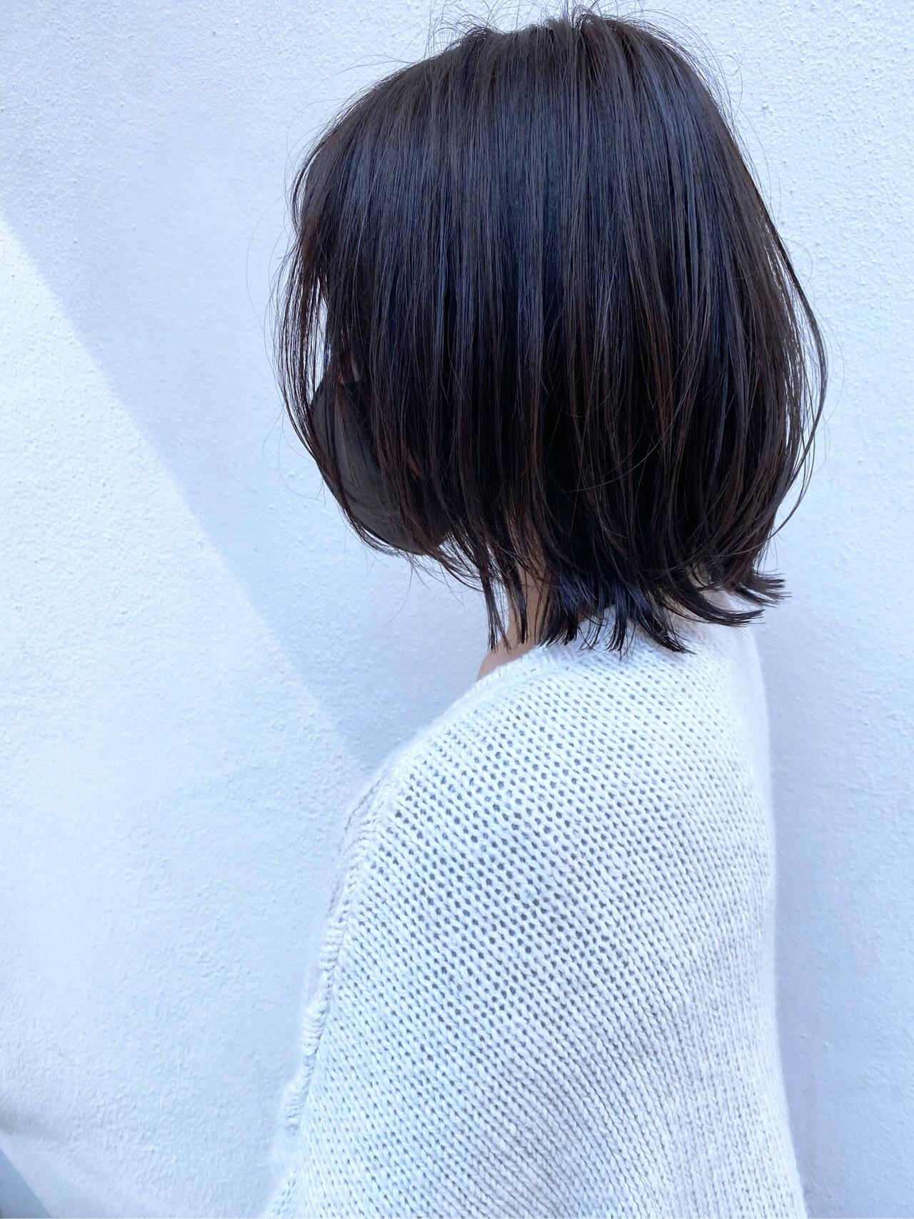 ショート ショートヘア ショートボブ ミニボブヘアスタイルや髪型の写真・画像